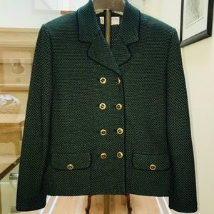ST JOHN COLLECTION by Marie Gray Tweed Knit Jacket